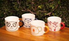 super cute mugs