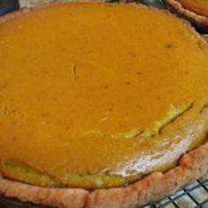 This is a family favorite and was my Grandpop Henry's favorite pie! FACTOID: Did you know that most commercial pumpkin for pumpkin pie - the kind you buy in a can - is butternut squash? One Blue Hubbard is enough for two deep dish pies Pie Recipes, Fall Recipes, Baking Recipes, Holiday Recipes, Pumpkin Recipes, Veggie Recipes, Summer Recipes, Sweet Recipes, Recipies