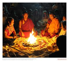 #Tibetans #fire #2012
