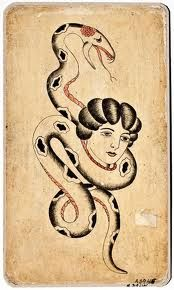 From the Maritime Museum´s collection of approximately 170 original tattoos of… Vintage Tattoo Art, Vintage Art, Antique Tattoo, Old Tattoos, Ship Tattoos, Arrow Tattoos, Small Tattoos, Tatoos, Americana Tattoo