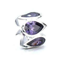 Bella Fascini Pear Shaped Cubic Zirconia - Amethyst Purple Lights - Made with Authentic Swarovski Gem Elements - European Charm Bracelet Bead - Solid Sterling Silver - Fits Perfectly on Chamilia Moress Pandora Troll and Compatible Brands Bella Fascini Beads,http://www.amazon.com/dp/B009TJ7VGY/ref=cm_sw_r_pi_dp_dW2Psb1N2E5VDAFY