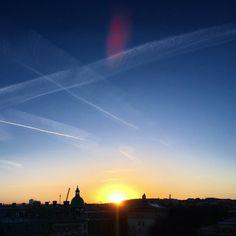 Sunrise over Gothenburg