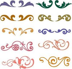 Free SVG Flourish