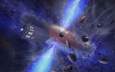 The TARDIS – Doctor Who