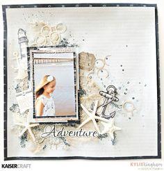 "adventure1 Kaisercraft ""High Tide"" collection"