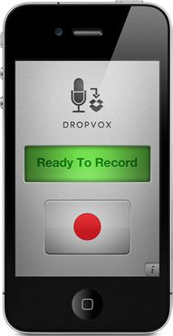 DropVox - Record and Upload Voice Memos straight to Dropbox