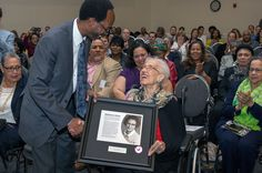 """Fifty-five years after she helped compute, by hand, the launch window and trajectory for the first American astronaut's flight to space, NASA honored """"human computer"""" Katherine Johnson with the naming of a computational research facility in Virginia. Us History, History Books, Black History, Nasa Langley, Human Computer, Katherine Johnson, Coloured People, Hidden Figures, African American Culture"""