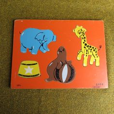 New to BigfootCountryTrader on Etsy: Vintage 1970's wooden puzzle - SIFO (10.00 USD)