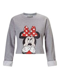 PETITE Minnie Mouse Sweatshirt - Miss Selfridge