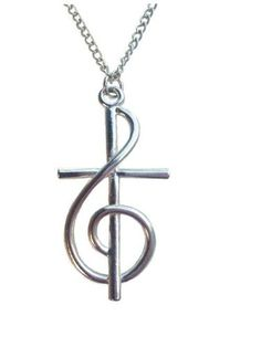 Treble Clef Cross -- Want additional info? Click on the image.(This is an Amazon affiliate link and I receive a commission for the sales)