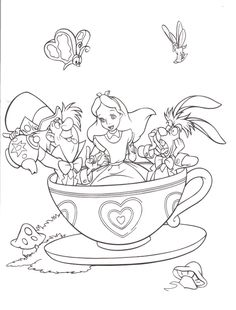 find this pin and more on enchanted forest disney coloring - Children Colouring Book