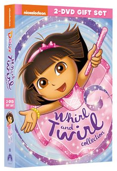 Dora the Explorer: Whirl & Twirl Collection DVD (2 Discs) + Giveaway (Ends 6/6)  http://couponsavvysarah.blogspot.com/2015/05/dora-explorer-whirl-twirl-collection.html