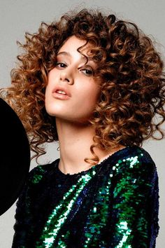 Tousled Curls ❤ Here is a list of short curly hairstyles and tips for girls with curls. In case your curls are out of control and you can't tame the wild tresses. #shortcurlyhairstyles #lovehairstyles #hair #hairstyles #haircuts Short Curly Hairstyles For Women, Ethnic Hairstyles, Long Curly Hair, Curled Hairstyles, Straight Hairstyles, Hairstyles Haircuts, Medium Hair Styles, Natural Hair Styles, Long Hair Styles