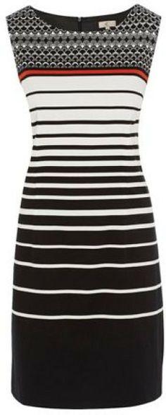 Stripe Tunic Dress @Lyst