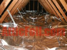 Radiant Barrier - LOWEST PRICE on Heavyweight Radiant Barrier Foil Insulation for Do-It-Yourself Installation and professional installers-How To Videos. Blown In Insulation, Foil Insulation, Radiant Barrier, Attic, Cleaning, Cool Stuff, The Originals, How To Make, Diy