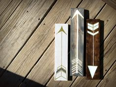 Hey, I found this really awesome Etsy listing at https://www.etsy.com/listing/225935671/rustic-painted-arrow-signs-set-of-three