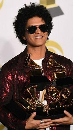 He swept the Grammy's January 2018