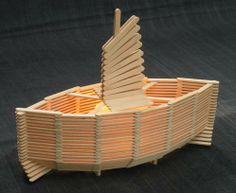 Fabriquer un bateau en baton de popsicle - Recherche Google