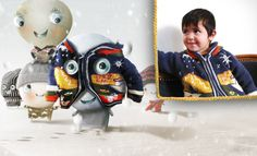 Mateo Stitch is so adorable!   Look how he wears his jacket...isn't that cute :D
