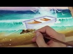 Howto Paint sea. In Watercolor 3