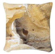 Sandstone Scenic Throw Cushion