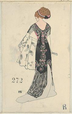 Fashion (Mode), Artist: Mela Koehler (Austrian, Vienna 1885–1960 Stockholm), Publisher: Published by Wiener Werkstätte, Date: 1910