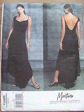 Vogue 2835 designer evening dress sewing pattern Montana size 14-18. UNCUT F/F
