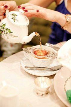 Antique Tea Time