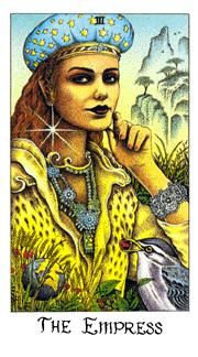 July 2 Tarot Card: The Empress (Cosmic deck) You are a source of inspiration and wisdom for others -- nurture the depth of your heart and mind now