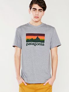 Patagonia Sunset Logo Tee - Without Walls