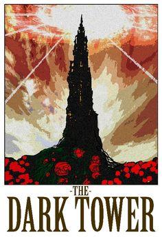 "Dark Tower 13""x19"" Poster"