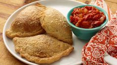 Pepperoni Pizza Pocket Recipe : Jeff Mauro : Food Network