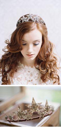 Headpieces from Erica Elizabeth Designs, photos: Caroline Tran