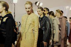 Acne Studios AW15, Womenswear, Dazed backstage, Paris
