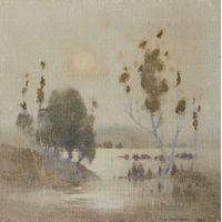 Watercolor Canvas, Watercolor Trees, Watercolor Landscape, Abstract Landscape, Landscape Paintings, Watercolor Paintings, Watercolours, Australian Painting, Australian Art