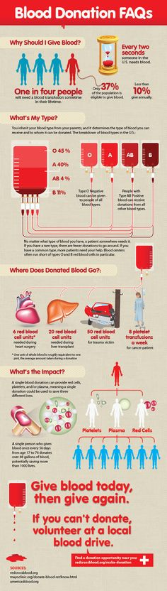 Blood Donation Infographic – Easy Guide to Giving Blood