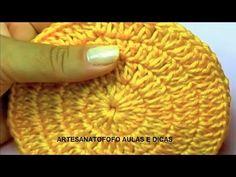 Crochet For Beginners, Learn To Crochet, Crochet Projects, Macrame, Beanie, Bolo Fit, Fashion, Finger Crochet, Crochet Circles