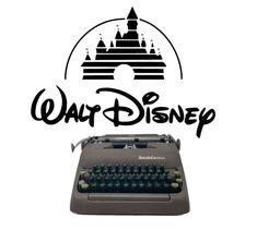 Disney Font Rare Typewriter Car Interior Decor, Lighter, 1920s, Dark Brown, Keys, Random Stuff, Manual, Ribbon, Corona