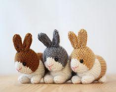 Ravelry: Dutch Rabbits pattern by Rachel Borello Carroll