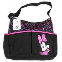 Disney Baby Black Pink Minnie Mouse Diaper Bag Http