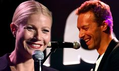 Gwyneth Paltrow introduces Chris Martin on stage after his love split