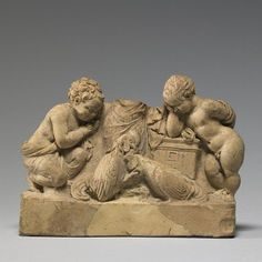 Terracotta depiction of a Cock Fight Hellenistic Greek from Turkey BC Made in ancient Amisos (present-day Samsun) along the Black Sea coast of Asia Minor, the relief is a rare example of a. Hellenistic Art, Alexandre Le Grand, Terracota, Italian Art, Present Day, Ancient Greece, Archaeology, Art Museum, Lion Sculpture