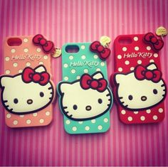 Case Hello Kitty disponibles para Iphon 5/ 5s