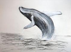 Humpback whale by Manukahoney7 on deviantART