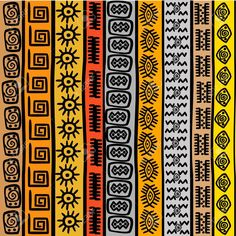 16583897-Seamless-pattern-with-ethnic-African-motifs-Stock-Vector-africa.jpg (1300×1300)