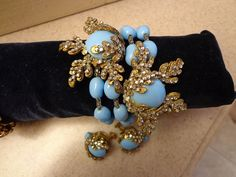 Outrageous HUGE Miriam Haskell Wrap Bracelet and by TopShelfTampa, $2700.00