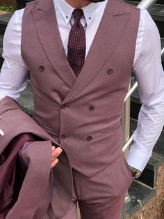 Suit material : Viscon , Polyester , Elestan Machine Washable : No Fitting : Regular Slim Fit Cutting : Double Slit, Double ButtonRemarks : Dry Cleaner Indian Men Fashion, Mens Fashion Suits, Mens Suits, Mens Suit Vest, Outfit Hombre Formal, Formal Men Outfit, Dress Suits For Men, Formal Dresses For Men, Suit For Men