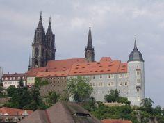 The Castle Meißen in Sachsen, Germany.