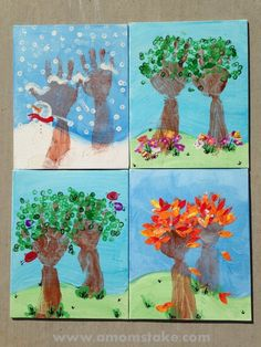 23 Cute and Fun Handprint and Footprint Crafts for Kids - The Thrifty Couple Christmas Crafts For Kids To Make, Holiday Crafts, Santa Crafts, Kids Christmas, Toddler Crafts, Preschool Crafts, Footprint Crafts, Handprint Art, Hand Art