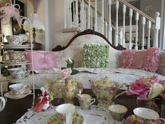 Karen's Cottage and Castle: Chintz for Tea Time